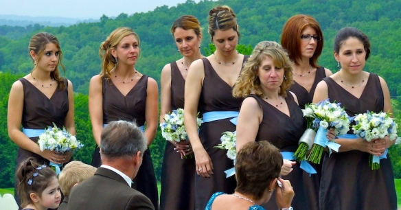 Bridesmaids in Brown copy